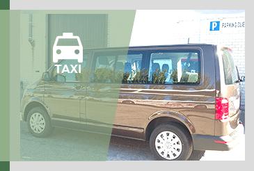 Alquiler de taxi y servicios con y sin conductor