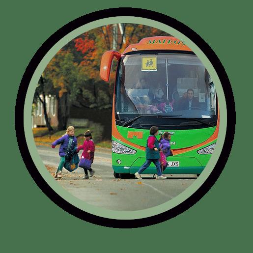 Alquiler de autobuses para rutas de Colegios