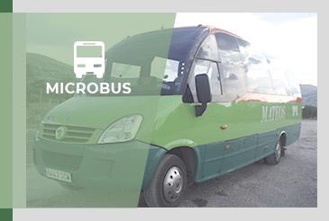 Alquiler de minibús y microbús para eventos