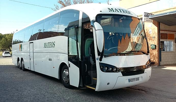 Alquiler de autobuses y microbuses para viajes y excursiones